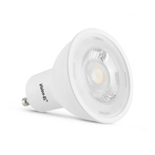 Ampoule LED GU10 Spot 6W 6000K 75D | remplace 50W