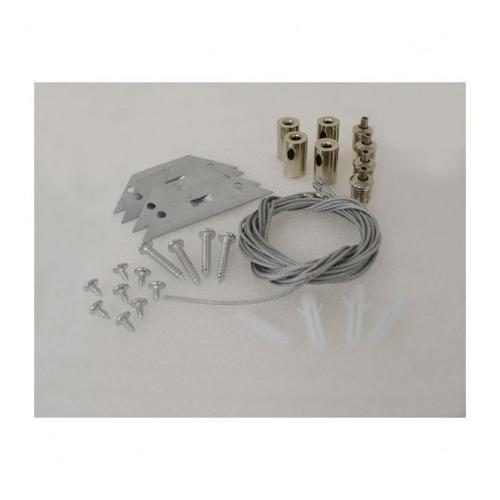 Kit de suspension pour Plafonniers 60 x 60 cm