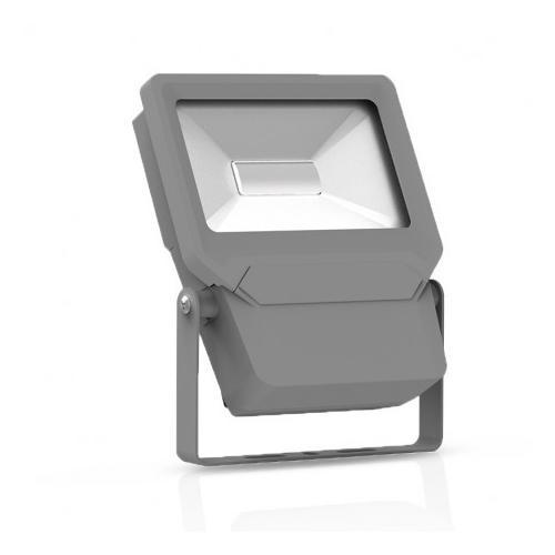 Projecteur Exterieur LED Plat Gris 10W 6000K