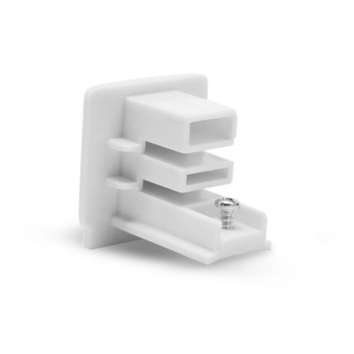 Connecteur Triphase Fin double sens Blanc