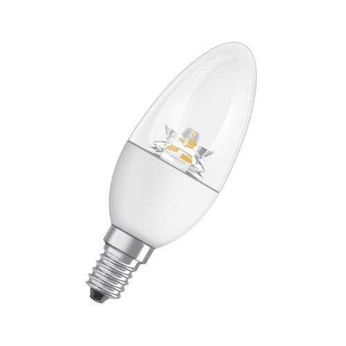 Ampoule LED Star Flamme 6W40 E14 DIAM CH