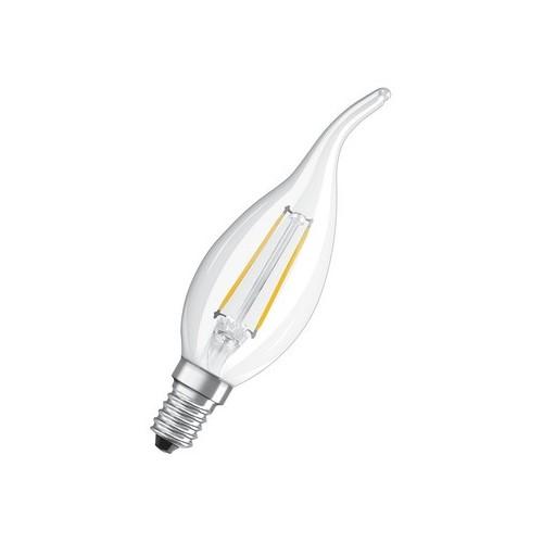 Ampoule Led Filament Flamme Coup de vent 2W=25 E14