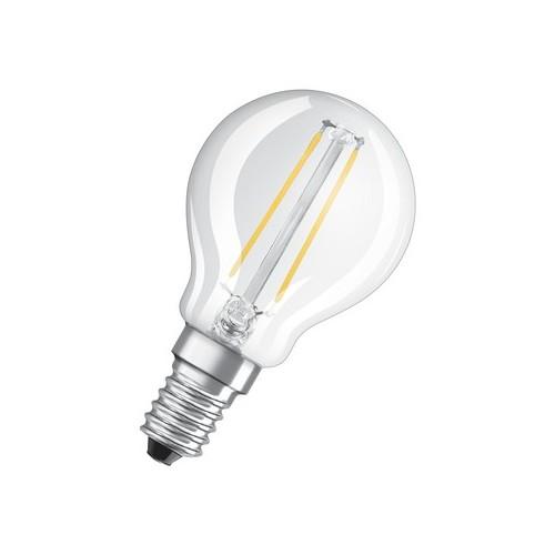 Ampoule LED FILAMENT Sphérique 2W=25 E14