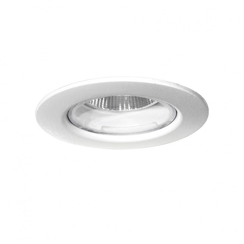 5w Ip44 Spot Led Blanc 9 Encastrable 1000lm Dimmable 3000k nP0wkO