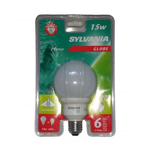 Ampoule Fluopcompacte Globe E27 15W 950LM