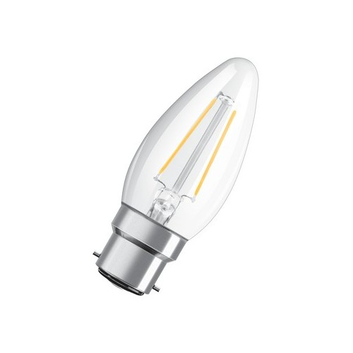 Ampoule LED FILAMENT FLAM 2,1W=25W B22 2700K