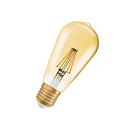 Ampoule LED FILAMENT EDISON 1906 7W=50W GOLD E27 2700K Dimmable