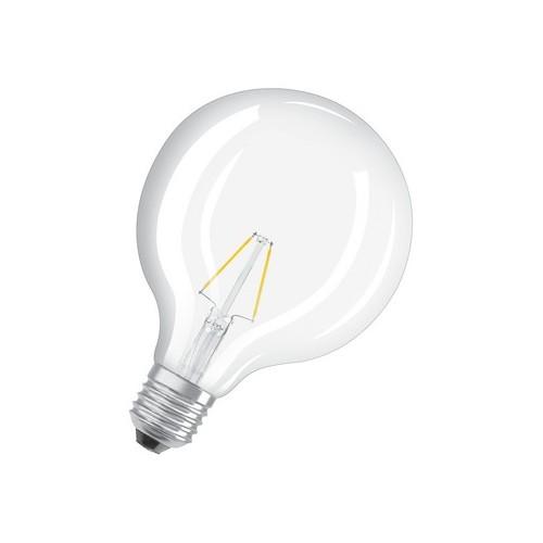 Ampoule LED FILAMENT GLOBE 4W=40W E27 2700K