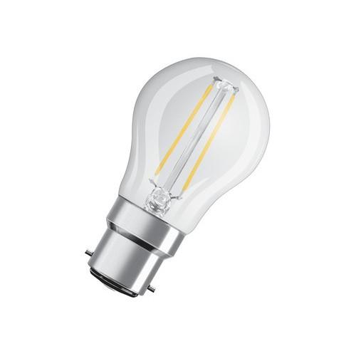 Ampoule Led Filament sph 2,1W=25W B22 2700K