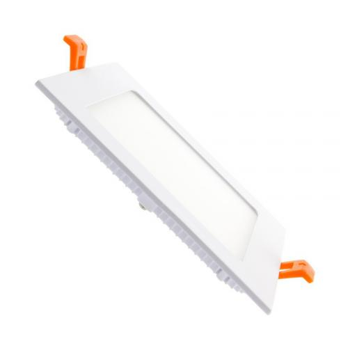 Downlight LED Carré Extra Plat 12W Blanc Froid 6000K 6500K