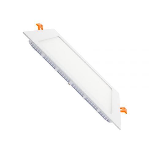 Downlight LED Carré Extra Plat 18W Blanc Neutre 4000k 4500K