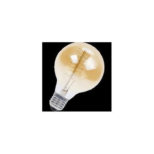 Ampoule Incandescente GLOBE DECO SPIRAL 35W E27 GOLD