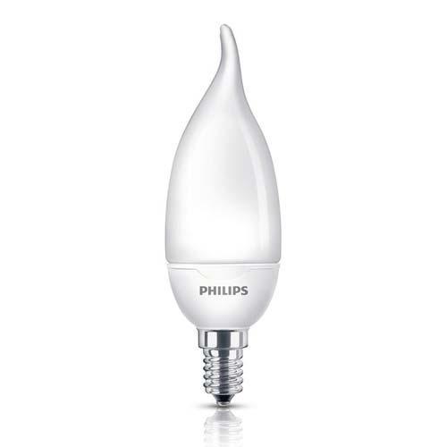 Ampoule Fluocompacte Flamme COUP DE VENT 5W E14 2800K
