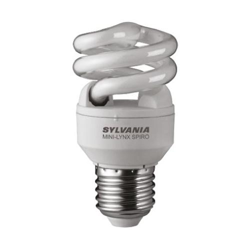 Ampoule Fluocompacte Fast Start SPIRO E27 8W 2700K