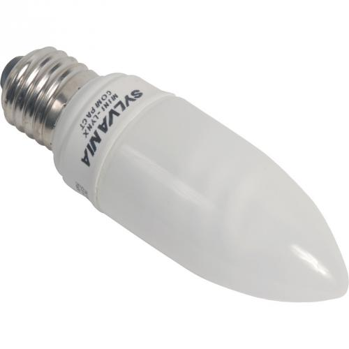 Ampoule Fluocompacte FLAMME T2 9W 2700K E27