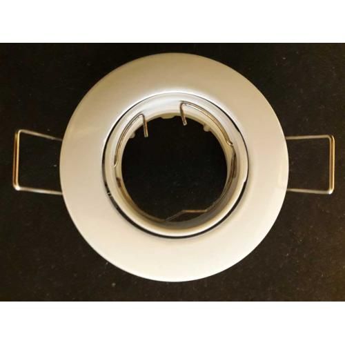 Encastre de plafond rond 35/1 GU4 orientable Blanc