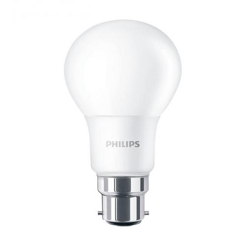 Ampoule LED CorePro LEDbulb 8W=60W B22 2700K Dépolie