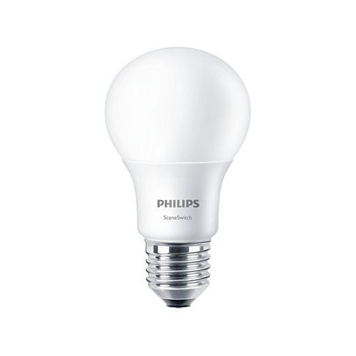 Ampoule LED SceneSwitch 3 ambiances E27 2700K 8W=60W Dépolie