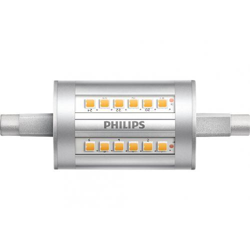 Ampoule LED CorePro R7s 78mm 7,5W=60W 3000K
