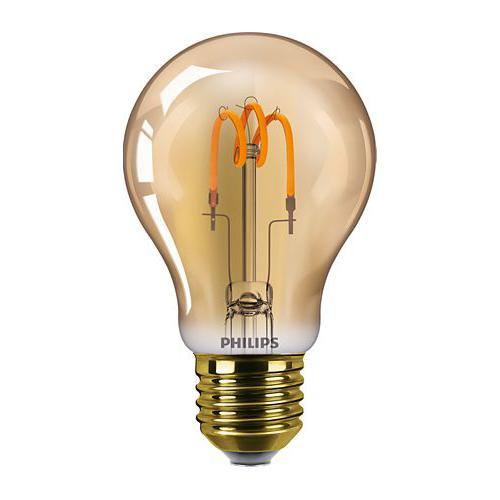 Ampoule LED Filament Vintage LEDbulb 2,3W=14W E27 2000K Ambrée