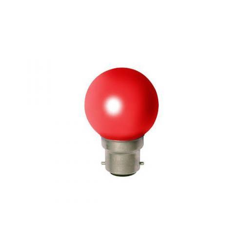 Ampoule Incandescante Sphérique B22 15W Rouge