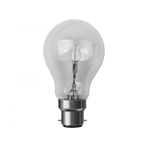 Ampoule Halogène ECO 70W=92W B22 2800K